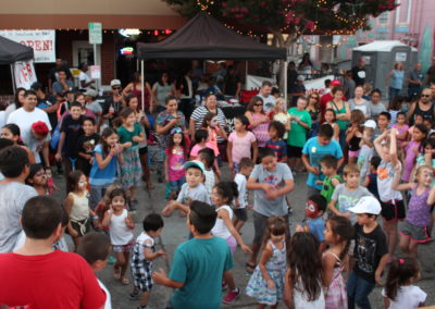 Fun Dancing at National Night Out